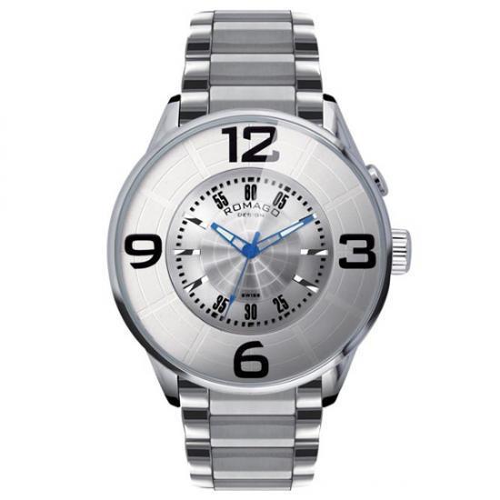ROMAGO DESIGN (ロマゴデザイン) Numeration series ヌメレーションシリーズ 腕時計 RM007-0053SS-SV【送料無料】
