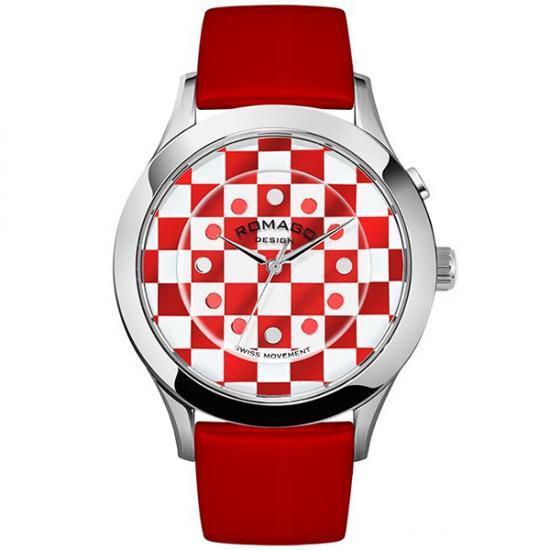 ROMAGO DESIGN (ロマゴデザイン) Fashioncode series ファッションコードシリーズ 腕時計 RM052-0314ST-RDWH【送料無料】