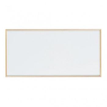 馬印 木枠ボード ホワイトボード 1800×900mm WOH36オフィス おしゃれ シンプル