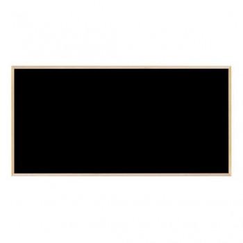 馬印 木枠ボード ブラックボード 1800×900mm WOEB36看板 壁掛け スチール