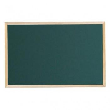 馬印 木枠ボード スチールグリーン黒板 900×600mm WOS23