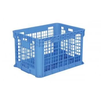 三甲 サンコー サンテナー B400 ブルー 128001網目 収穫 プラスティック