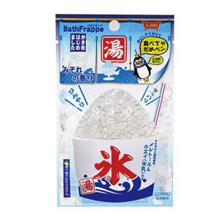 五洲薬品 入浴用化粧品 バスフラッペ みぞれ (45g×10包)×12箱(120包入り) BFM-18