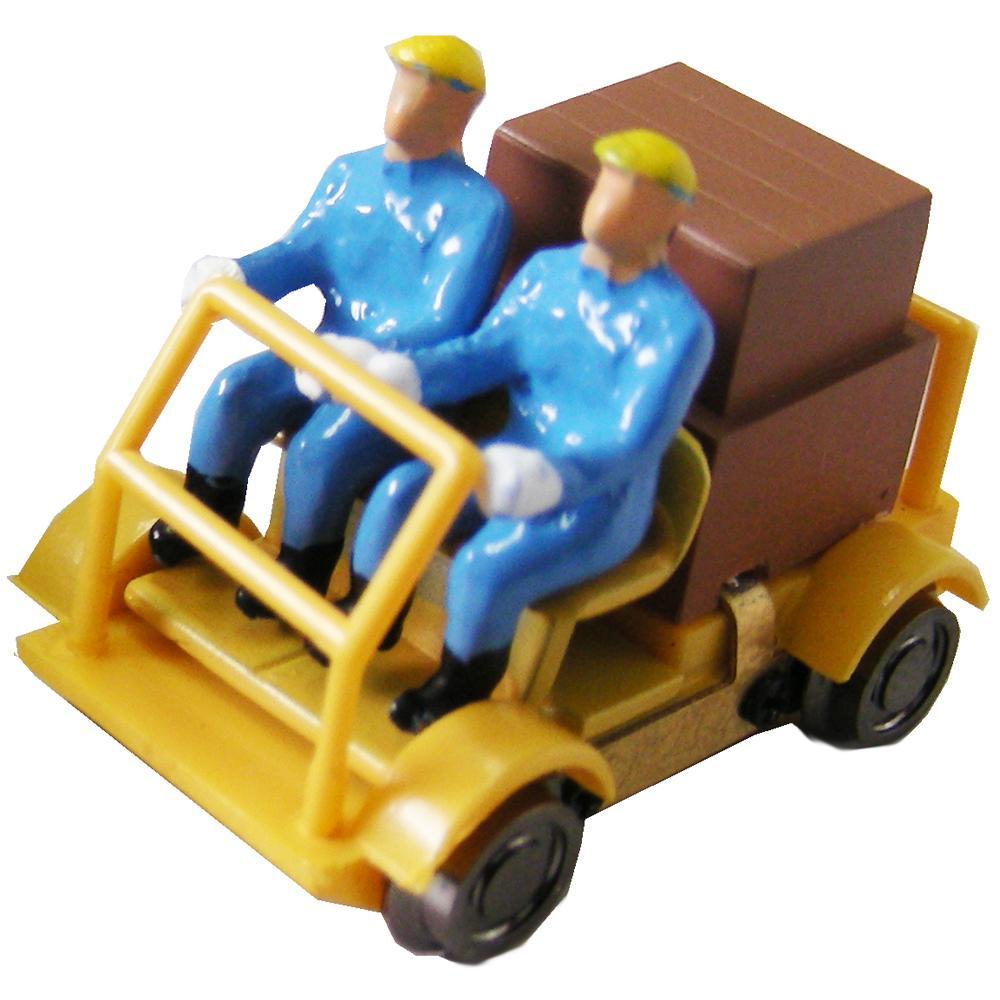 津川洋行 16番 車両シリーズ 軌道バイク(動力付) 車体色:黄色 18001【送料無料】