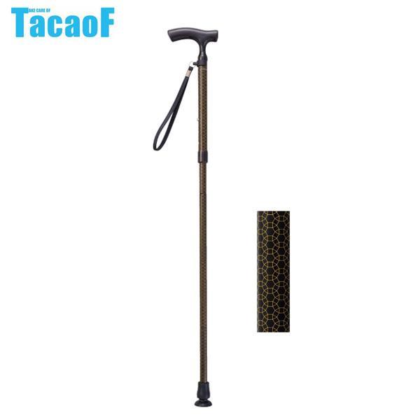 幸和製作所 テイコブ(TacaoF) 折りたたみ式伸縮カーボンステッキ CAF01 ブラック