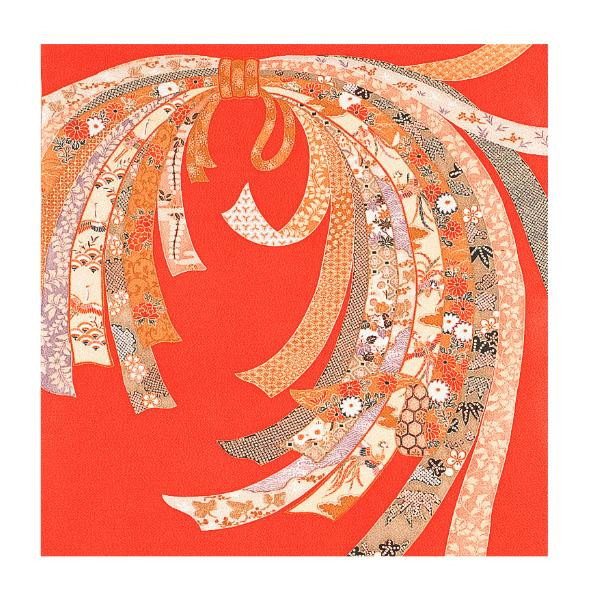 宮井 ふろしき 絹75cm幅 のし ローズ 11-5438-20【送料無料】