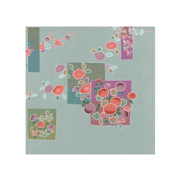 宮井 ふろしき 絹75cm幅 四季の花 鼠 11-5182-05風呂敷 ギフト 贈り物