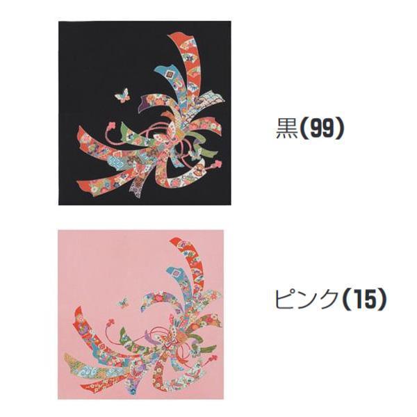 宮井 ふろしき 絹68cm幅 胡蝶のしおしゃれ 贈り物 風呂敷