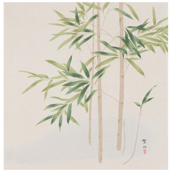 宮井 ふろしき 名作ふろしき 絹68cm幅 今村紫紅 竹 11-4711-01風呂敷 贈り物 かわいい