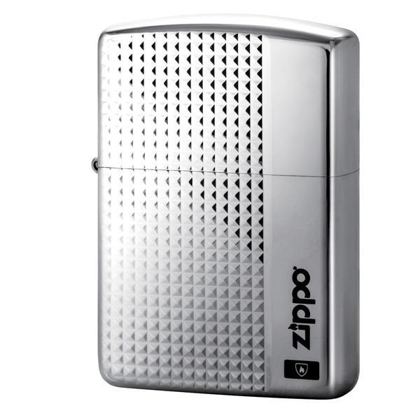 ZIPPO グリットカット チタンコーティング TI 2-56b (♯162) 70581【送料無料】