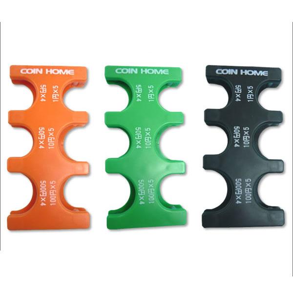 送料無料 片手で容易に扱えるコインホルダー 携帯コインホルダー コインホーム MG-01 通信販売 コインストッパー オレンジ便利 コンパクト