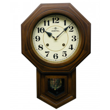 ボンボン振り子時計(アラビア文字) QL688 八角渦ボン時計【送料無料】