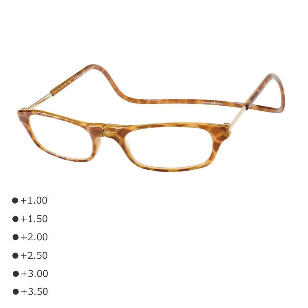 老眼鏡 CliC readers クリック リーダーブロンドデミ 送料無料EdxeWBQCor