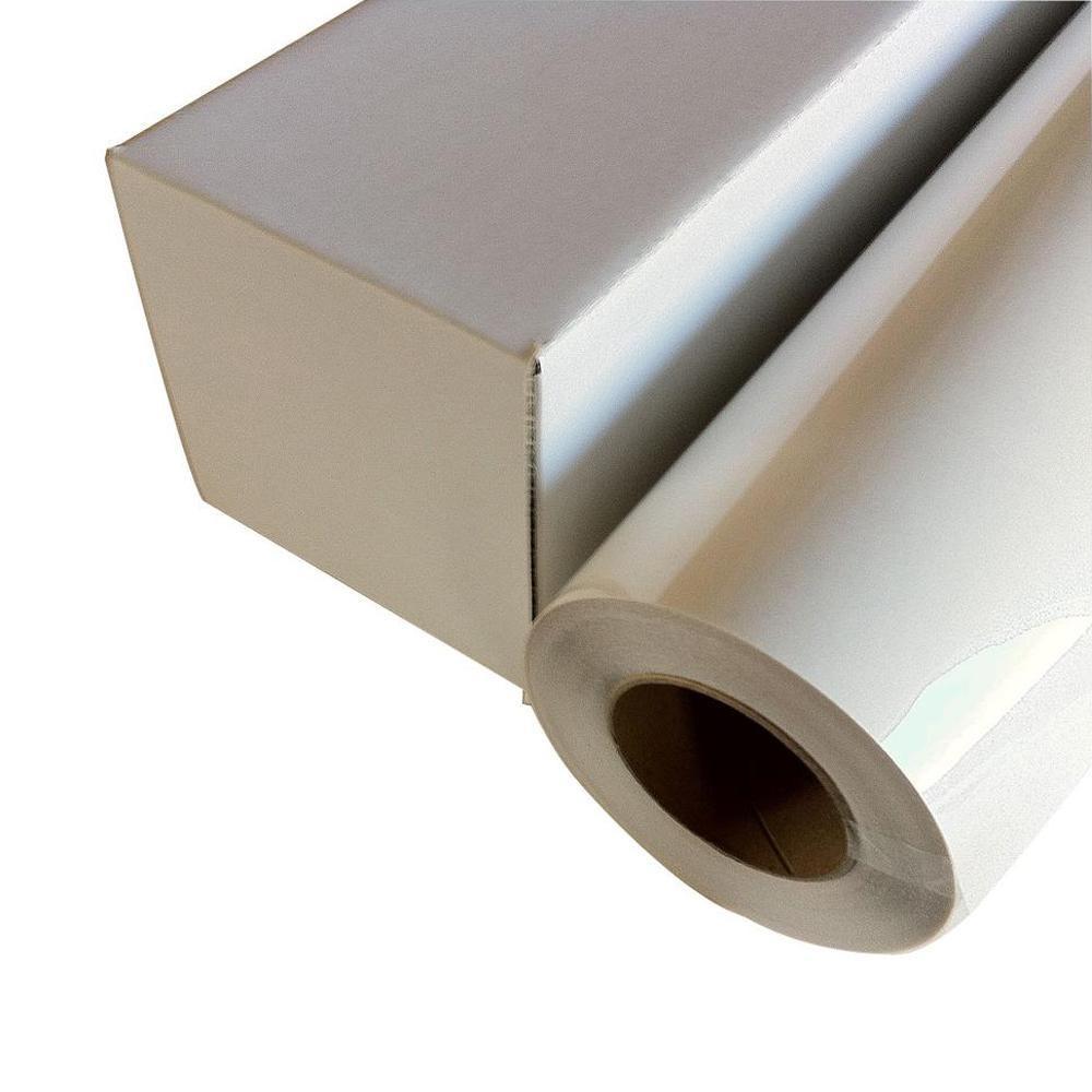 水性インクジェット顔料インク向けの透明度の高い薄フィルム。 和紙のイシカワ スーパークリアフィルム 610mm×20m巻 WA013-610【送料無料】