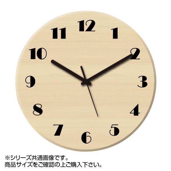 MYCLO(マイクロ) 壁掛け時計 ウッド素材(メープル) 丸型 23cm 木製時計 com406【送料無料】