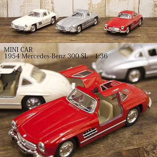 ダイキャストミニカー1954メルセデスベンツ300SL 1/36 メルセデスベンツ300SL【KT5346D】