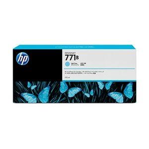 【送料無料】HP 771B インクカートリッジ ライトシアン B6Y04A