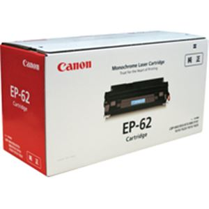 【送料無料】キヤノン Canon EP-62 トナーカートリッジ 3842A001 1個