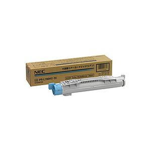 【送料無料】NEC 大容量トナーカートリッジ シアン PR-L7600C-18 1個