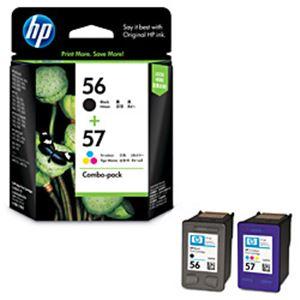 【送料無料】HP インクカートリッジ 4色パック 型番:CC629AA(HP56/57) 単位:1箱(4色パック) HP-INCC629AA