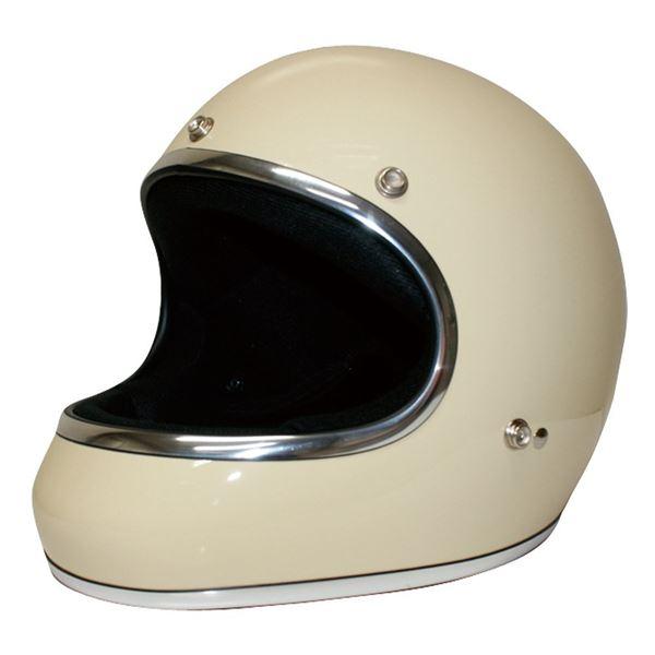 ダムトラックス(DAMMTRAX) ヘルメット AKIRA アイボリー M