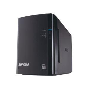 【送料無料】バッファロー ドライブステーション ミラーリング機能搭載 外付けHDD USB3.0用 2ドライブ 4TB HD-WL4TU3/R1J 1台