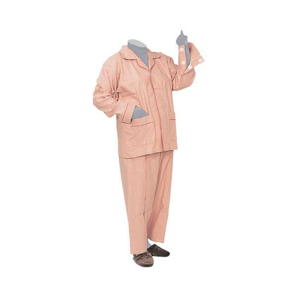 【送料無料】ハートフルウェアフジイ 前開きファスナーパジャマセット /HP15-100 S 05ピンク