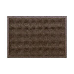 クリーンテックス・ジャパン 玄関マット ウォーターホースT W88×D62 ブラウン 1枚 【業務用】