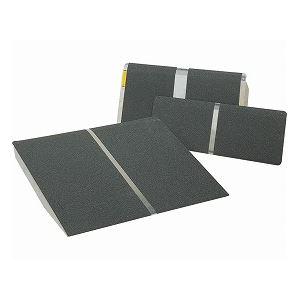【送料無料】イーストアイ ポータブルスロープ アルミ1枚板タイプ(PVTシリーズ) /PVT025 長さ25.5cm