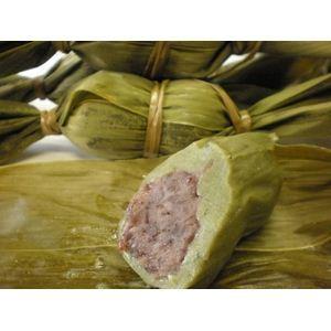 職人の技光る!伝統の味 【送料無料】新潟名物伝統の味!笹団子 つぶあん10個 + みそあん10個 計20個セット