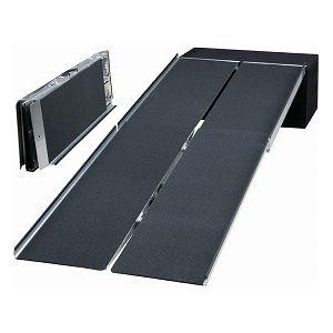 【送料無料】イーストアイ ポータブルスロープ アルミ4折式タイプ(PVWシリーズ) /PVW240 長さ244cm