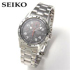 【送料無料】SEIKO(セイコー) ミリタリー・クロノグラフ SND375P