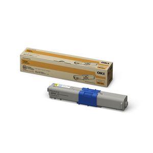 【送料無料】【純正品】 OKI(沖データ)対応 トナーカートリッジ イエロー 印字枚数:1500枚 1個 型番:TNR-C4JY1