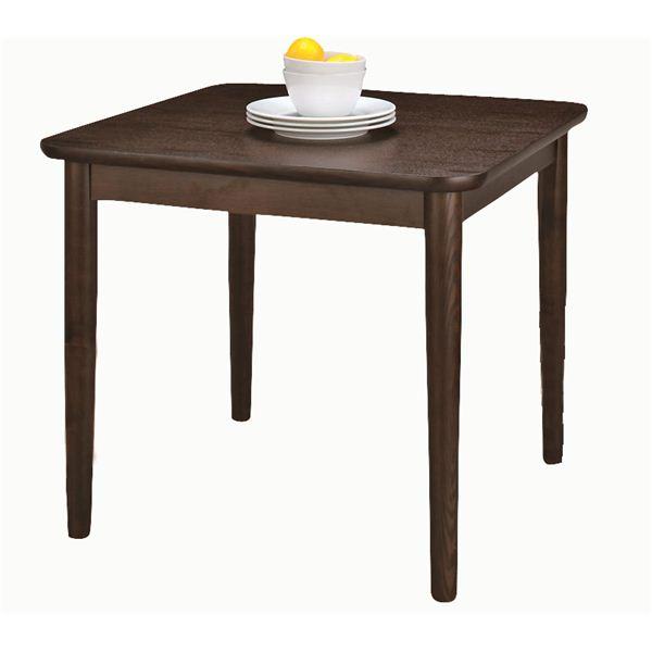 【送料無料】ダイニングテーブル 【モタ】 正方形 木製 HOT-332BR ブラウン