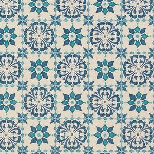 【送料無料】東リ クッションフロアH モロッコタイル 色 CF9003 サイズ 182cm巾×10m 【日本製】