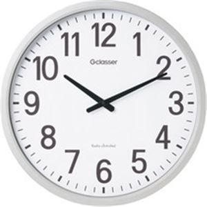 【送料無料】電波掛時計 ザラージ GDK-001