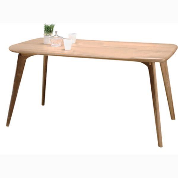 【送料無料】ダイニングテーブル 長方形 木製 4人掛けサイズ CL-817TNA ナチュラル