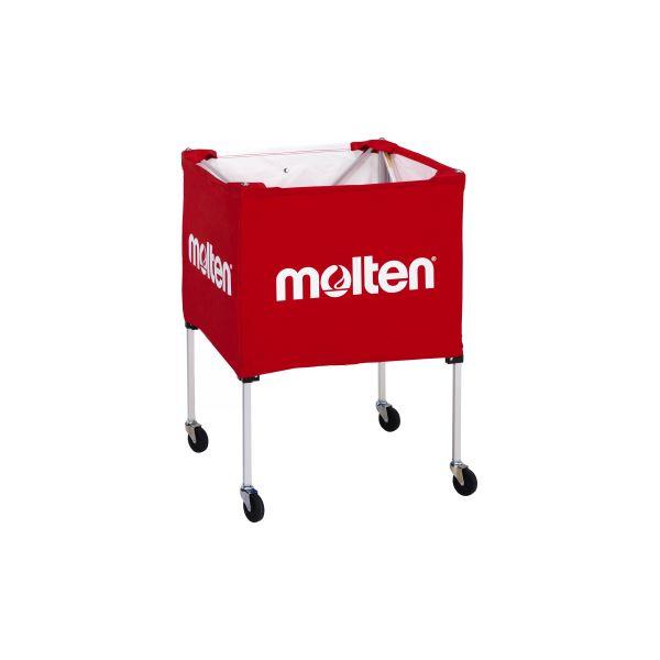 【送料無料】molten(モルテン) 折りたたみ式ボールカゴ(屋外用) BK20HOTR