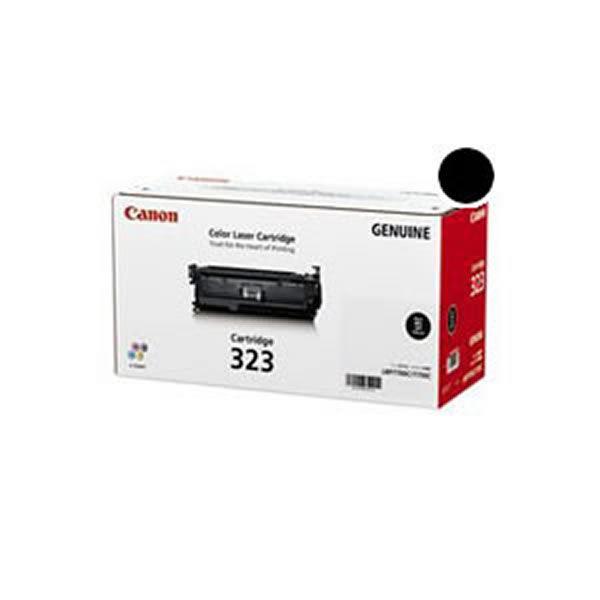 【送料無料】【純正品】 Canon キャノン トナーカートリッジ 【323 BK ブラック】