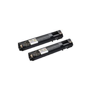 【送料無料】エプソン EPSON ETインクカートリッジ ブラック Mサイズ LPC3T21KP 1箱(2個)