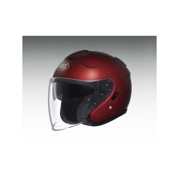 【送料無料】ショウエイ(SHOEI) ヘルメット J-CRUISE ワインレッド XL