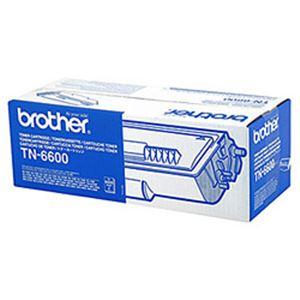 【送料無料】【純正品】 ブラザー工業(BROTHER) トナーカートリッジ 型番:TN-6600 印字枚数:6000枚 単位:1個