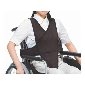【送料無料】特殊衣料 車椅子ベルト /4010 L ブラウン