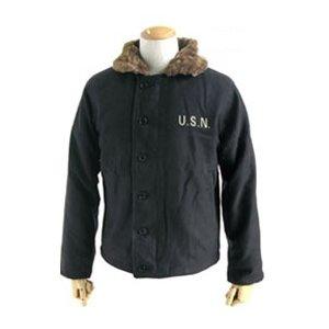 【送料無料】ハイクオリティに感動★米軍N-1 DECK ジャケット ブラック 32(XS)サイズ【レプリカ】