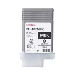 【純正品】 キヤノン(Canon) インクカートリッジ マットブラック 型番:PFI-102MBK 単位:1個
