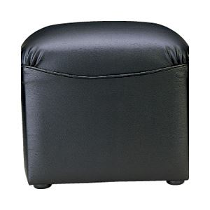 【送料無料】アイコ 応接椅子 スツール ボックスタイプ レザー