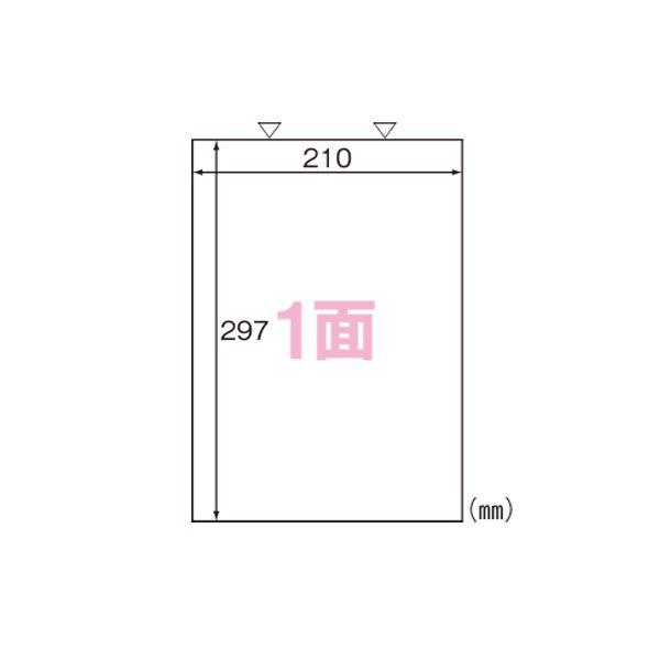 【送料無料】ヒサゴ カルバッシュ マルチプリンタラベル A4判 500枚入 FSCK862 500枚