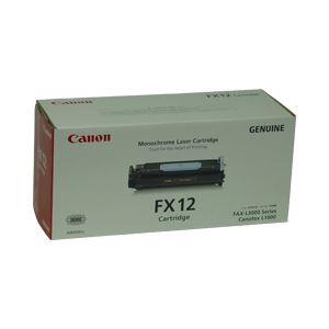 【送料無料】【純正品】 キヤノン(Canon) トナーカートリッジ 印字枚数:4500枚 型番:FX-12 単位:1個