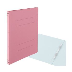 【送料無料】フラットファイル バインダー A4タテ ピンク 1箱(300冊) OD-133227-ハコ
