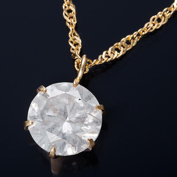 【送料無料】K18 1ctダイヤモンドペンダント/ネックレス スクリューチェーン, GULLIVER Online Shopping:d053a49e --- ww.thecollagist.com